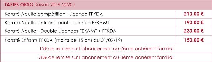 Calendrier Ffkda 2019 2020.Archives Des Infos Pratiques Oksg